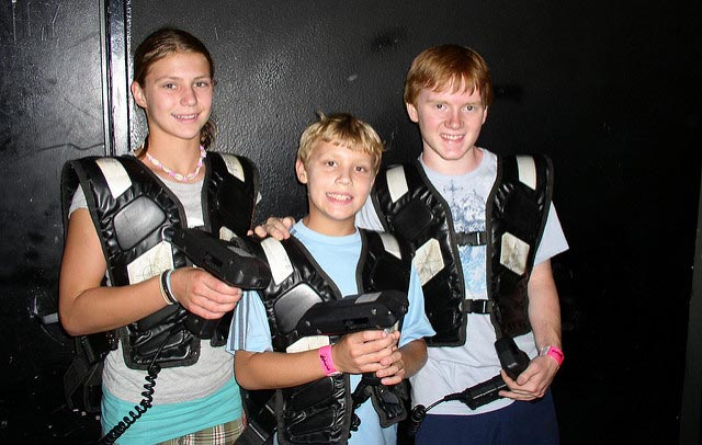 Laser tag may be fun, but risks aren't. Protect your business with laser tag insurance.